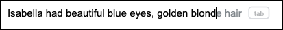 """اقتراحات """"الكتابة الذكية"""" في """"مستندات Google"""" عبر الإنترنت"""