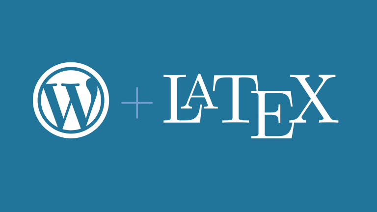 Como instalar um interpretador Latex no Wordpress?