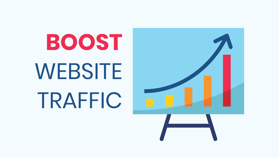Website traffic is very important for each website owner. There are five simple tricks that can boost website traffic. In short, they are Upgrade outdated content, leverage social engagement, improve page speed, create compelling headlines, and internally link to your content.