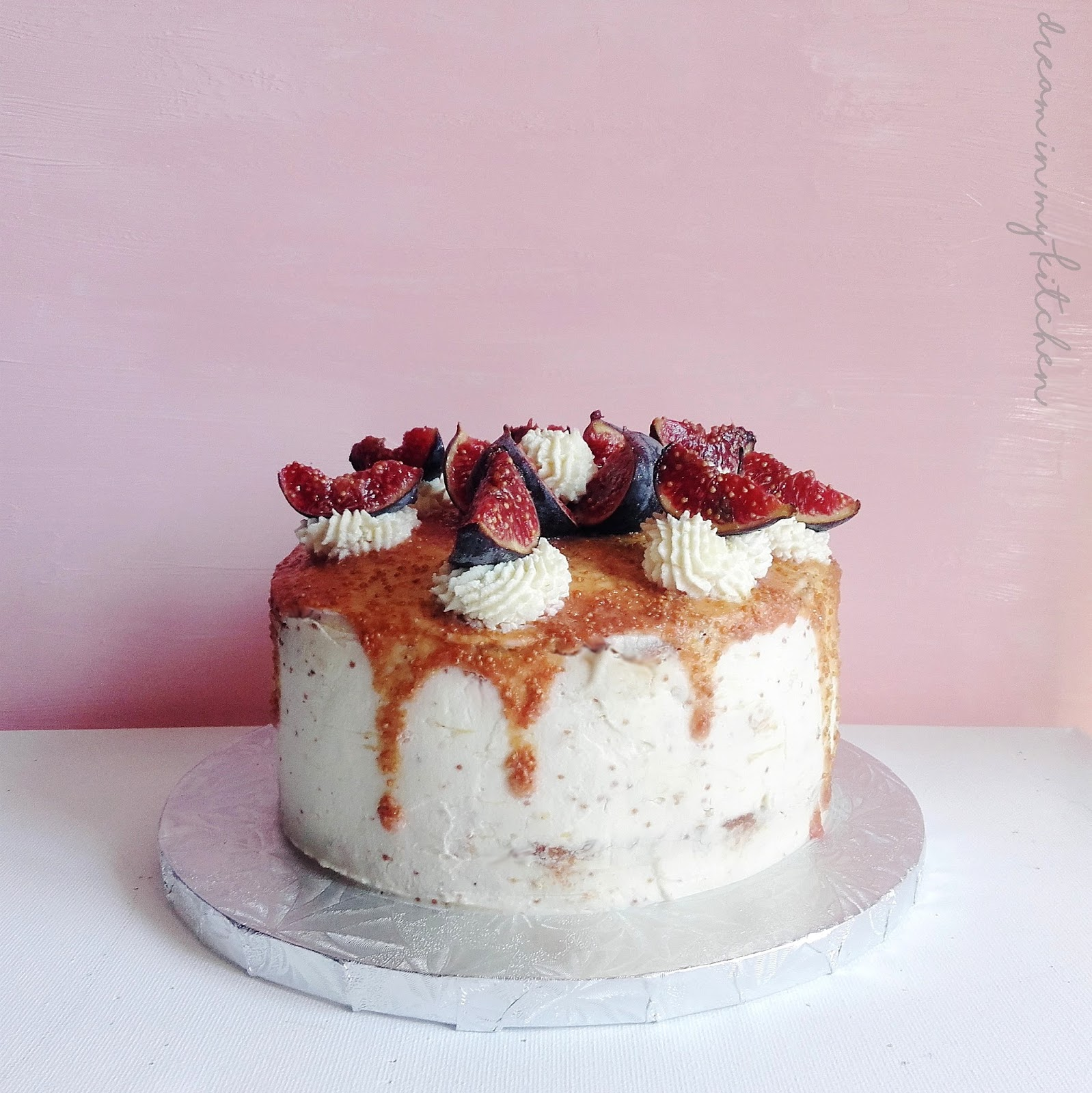 Dream in my kitchen recette du layer cake figues - Moule a layer cake ...