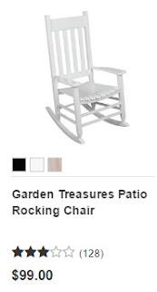 Lowes Rocking Chairs White 3