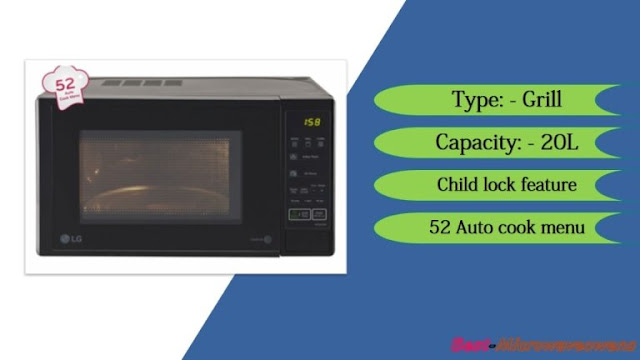 LG MH2044DB/ best microwave oven