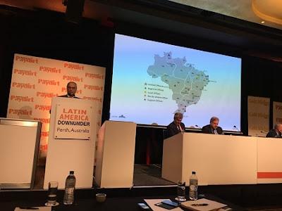 Serviço Geológico do Brasil representa o Brasil em conferência sobre mineração na Austrália
