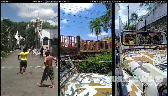 Massa PDIP Serang Markas FPI di Yogyakarta