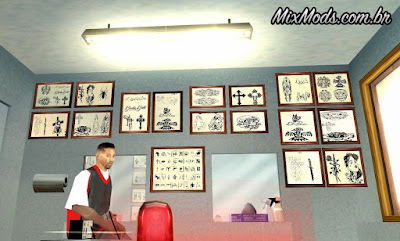 new tattos gta sa