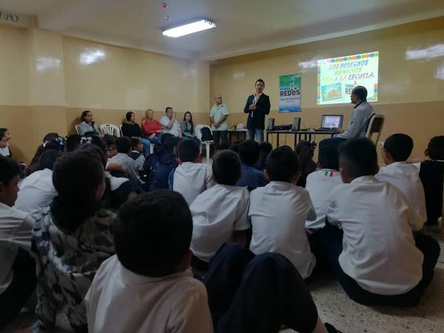 """TÁCHIRA: FundaRedes inicia programa """"Los DDHH Van a la Escuela"""" en 10 planteles."""