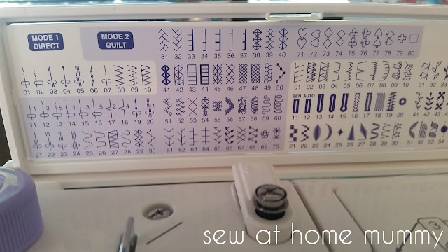 Tips and Tricks when using 12wt Aurifil and other heavier threads in your home sewing machine - using your machine's decorative stitches