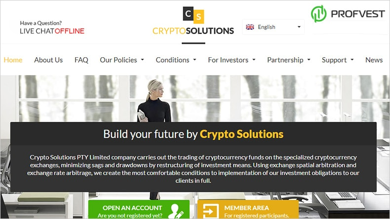 Кандидат CryptoSolutions