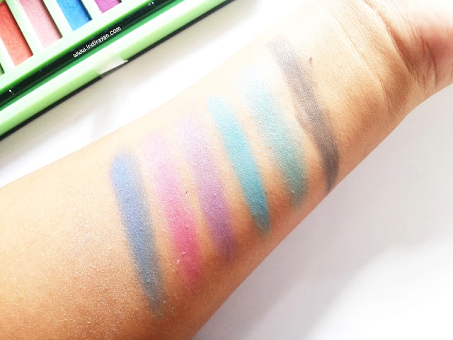 LA Girl Beauty Brick Neons swatch