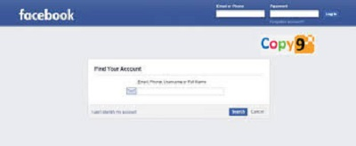 Copy9 Facebook Hacking Tool