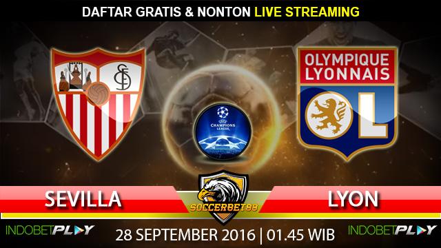 Prediksi Sevilla vs Lyon 28 September 2016 (Liga Champions)