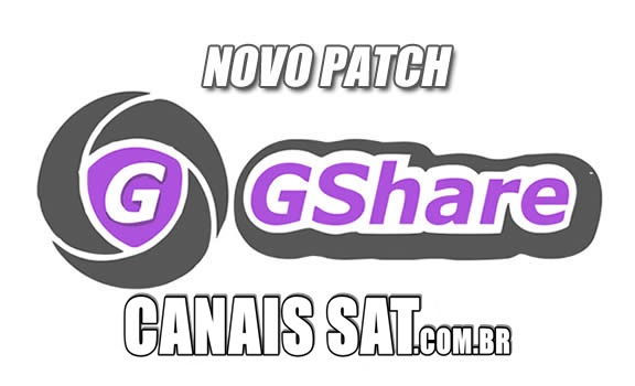 Gshare Nova Atualização Patch Keys SKS 89w - 04/05/2020