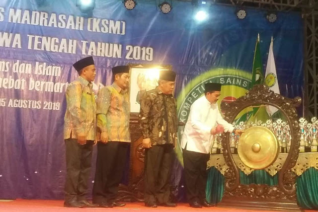 Inilah Daftar Juara Kompetisi Sains Madrasah Propinsi Jawa Tengah 2019