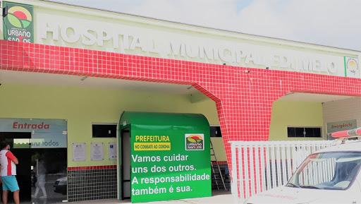 Em Urbano Santos, Prefeitura instala 05 cabines de desinfecção contra o coronavírus.