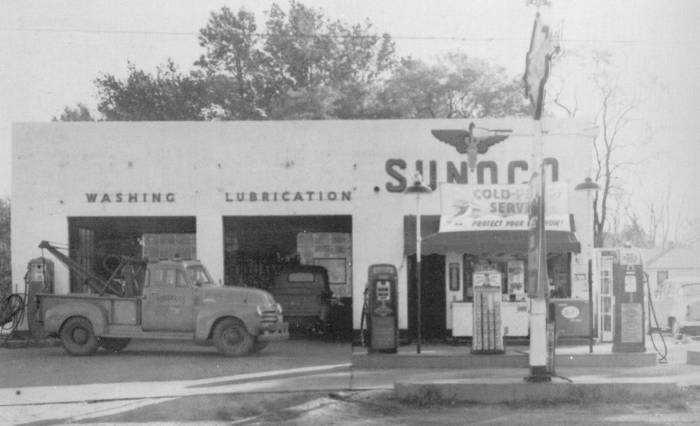 Old Sunoco Gas Stations Retropotamus