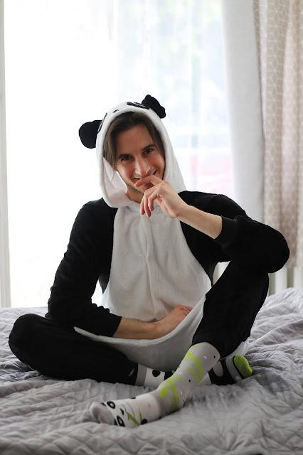 Strój pandy