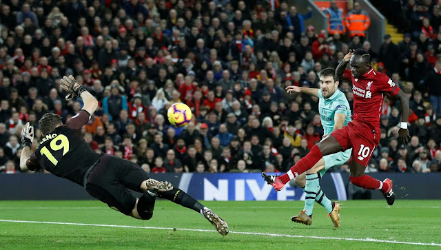 Skor akhir liverpool vs Arsenal 2018