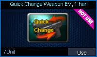 Quick Change Weapon EV