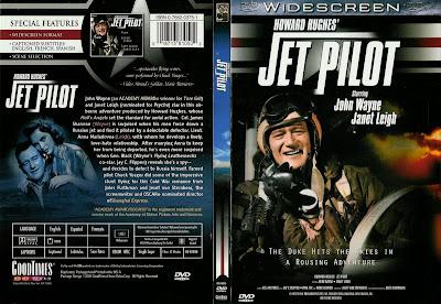 Carátula dvd: Amor a reacción(1957) Jet Pilot