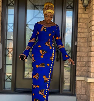 Stunning Fashion Style From African Fabrics
