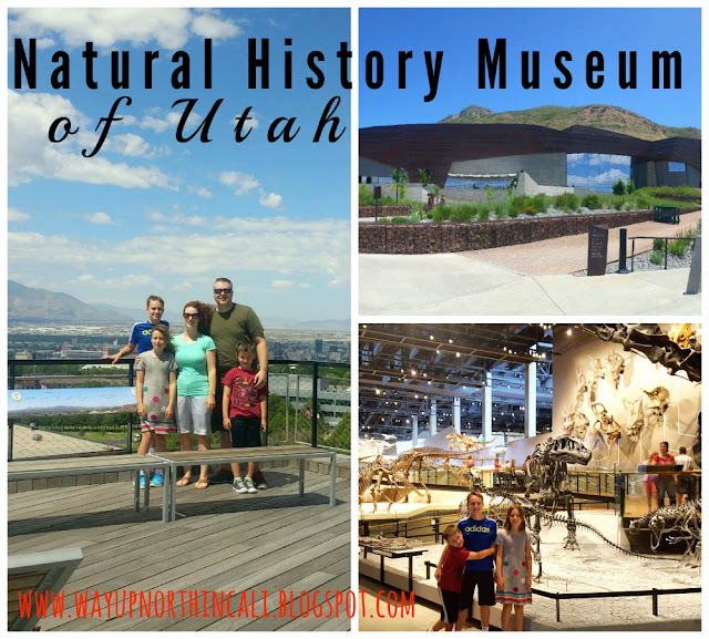 Natural History Museum of Utah. An incredible museum! It's going to be on my travel list for sure! www.wayupnorthincali.blogspot.com