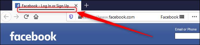 فايرفوكس الفيسبوك حاوية نشطة