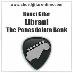 Chord Librani The Panasdalam Bank feat Fiersa Besari