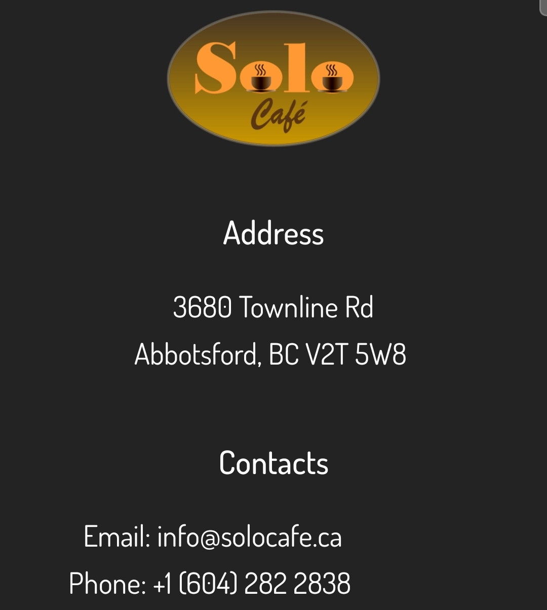 Located in Townline Road, Abbotsford B.C by the Summit Centre Arena