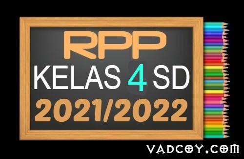 Kumpulan RPP PAI Kelas 4 SD Semester 1 Tahun Ajaran 2021/2022