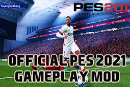 NEW Official PES 2021 Gameplay Mod For - PES 2017