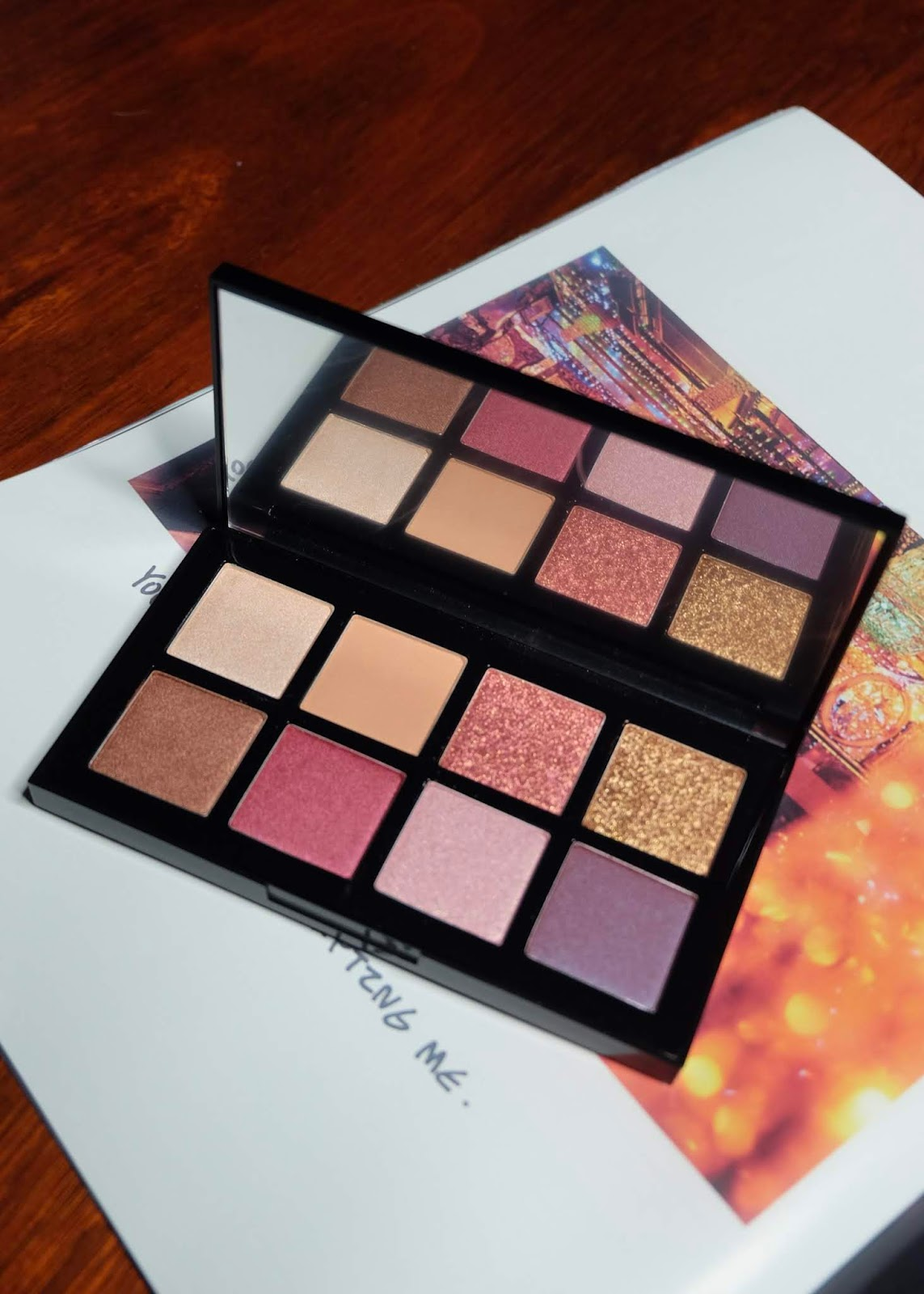 Eye Palette Sunrise & Moonrise BCL X ALTHEA Curitan Aqalili