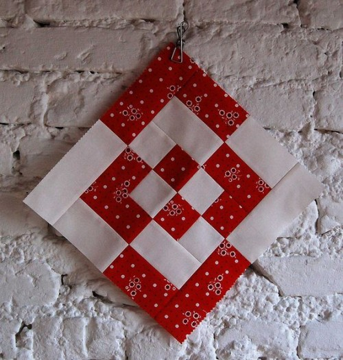 Log Cabin Variation - Free Quilting Pattern