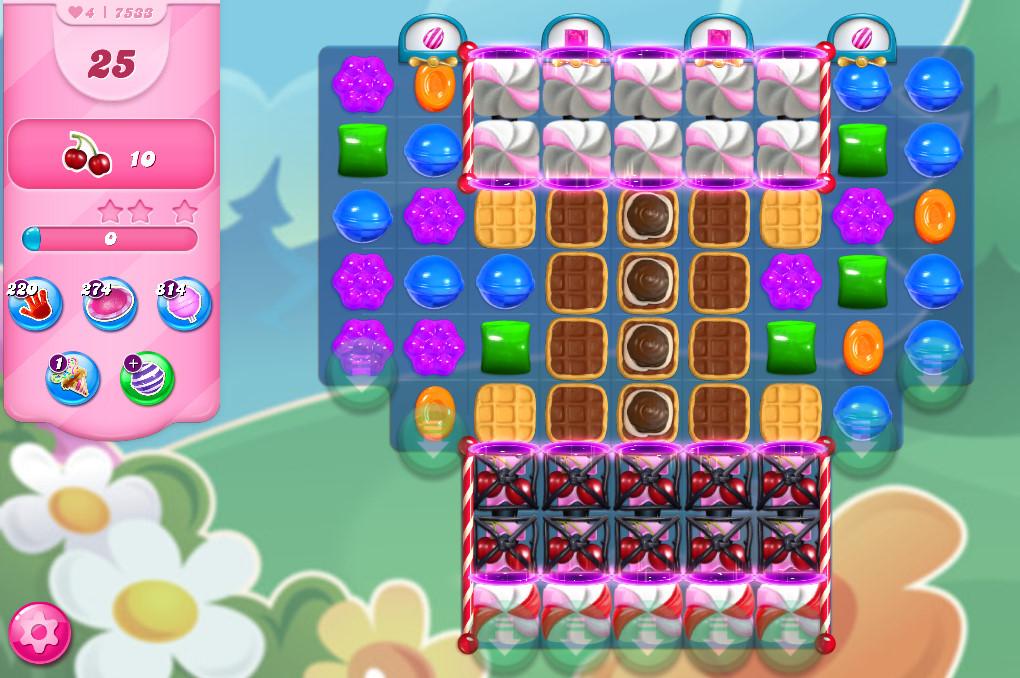 Candy Crush Saga level 7533