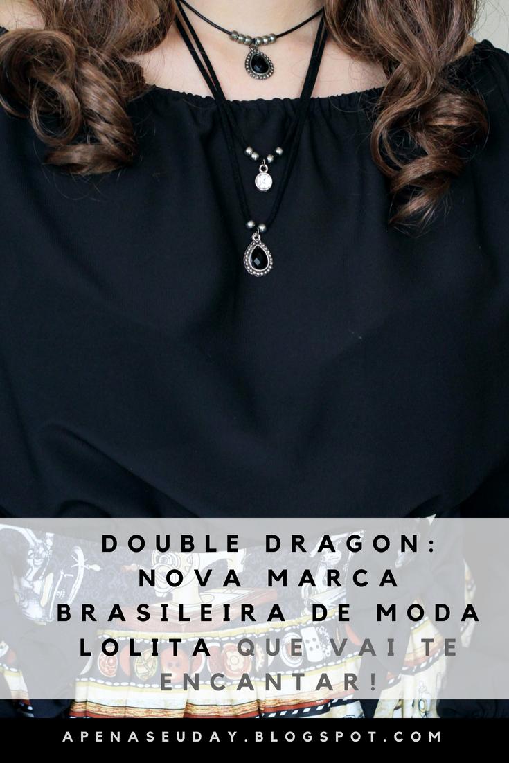 Conheça a Double Dragon nova marca especializada em roupas na moda Lolita que possui um conceito diferente de qualquer outra! Veja.