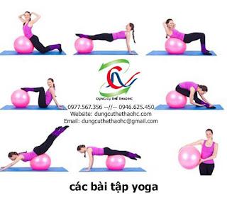 Bóng tập Yoga trơn 65cm