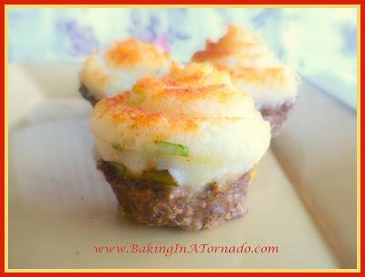 Individual Taco Pies | recipe developed by www.BakingInATornado.com | #recipe #dinner