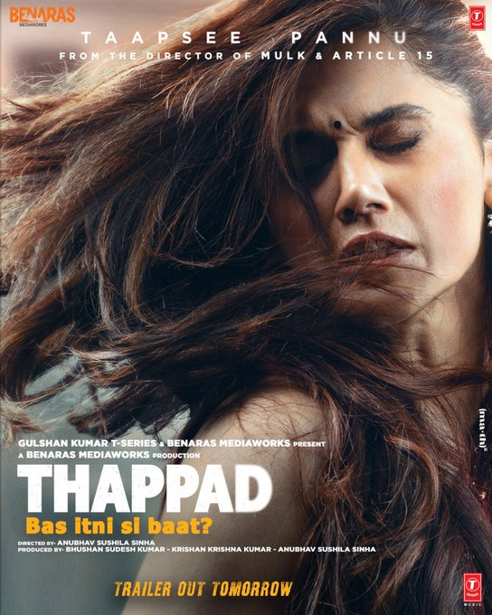 Thappad 2020 Hindi Movie 720p HDRip 950MB ESubs