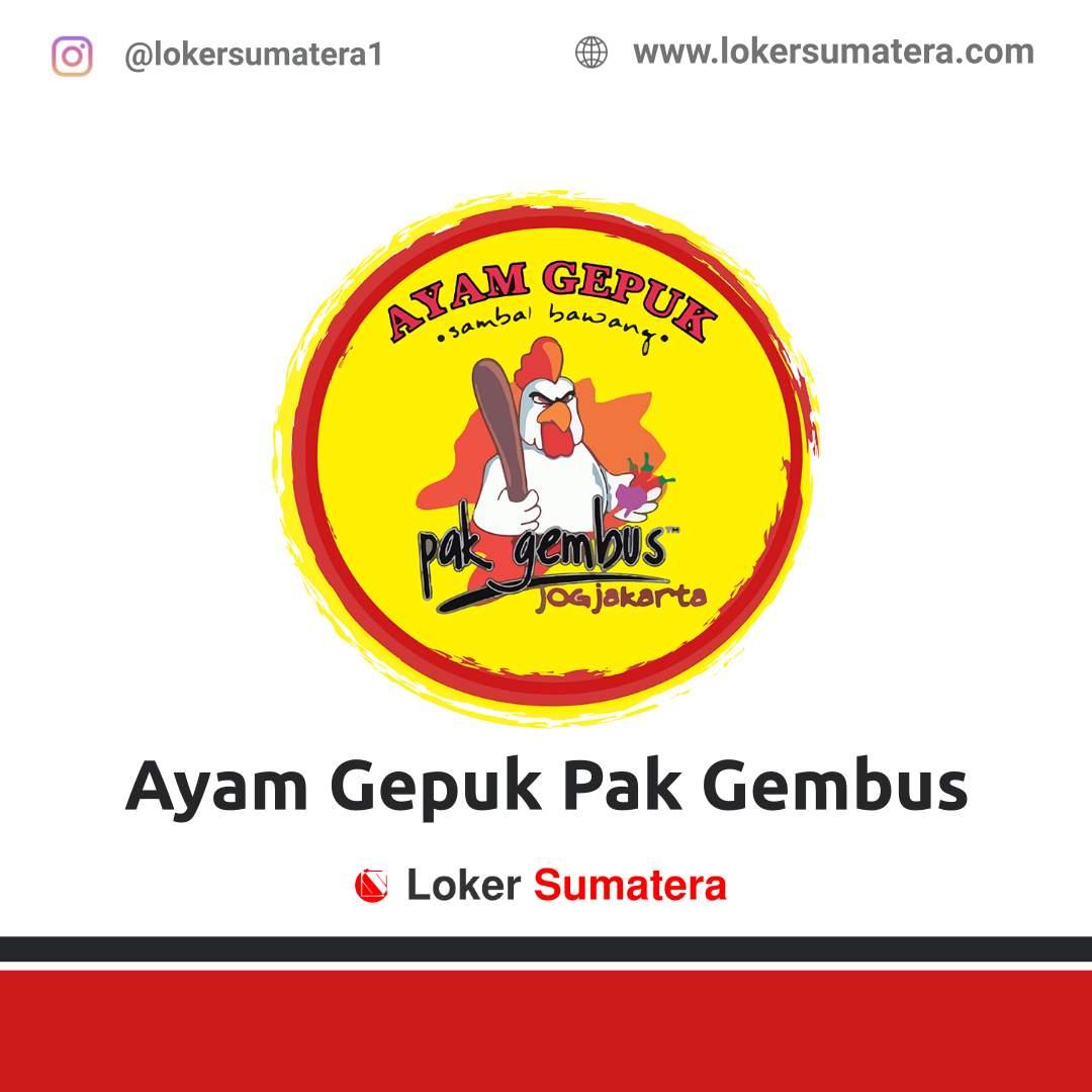 Lowongan Kerja Padang: Ayam Gepuk Pak Gembus Desember 2020
