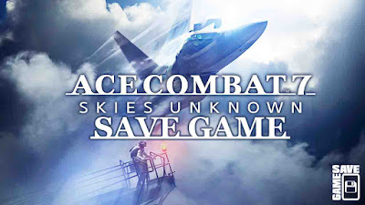 ace combat 7 skies unknown save game 100