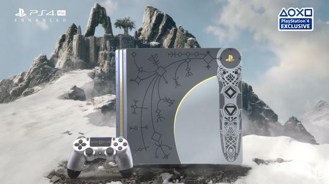 الإعلان رسميا عن النسخة المحدودة لجهاز PS4 Pro الخاصة للعبة God Of War