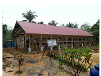 Sejumlah Proyek DAK Dinas Pendidikan Kab Sarolangun Diduga Tidak Sesuai Spesifikasi