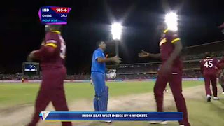 Mohammed Shami 3-35 - India vs West Indies Highlights - 28th Match - ICC Cricket World Cup 2015