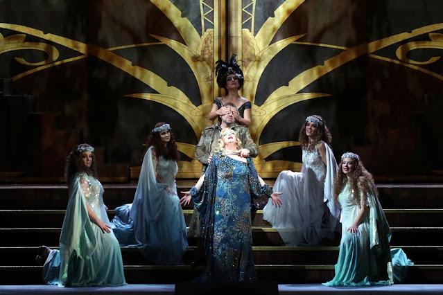 Richard Strauss' Die ägyptische Helena at La Scala, Milan in 2019 with Ricarda Merbeth as Helena