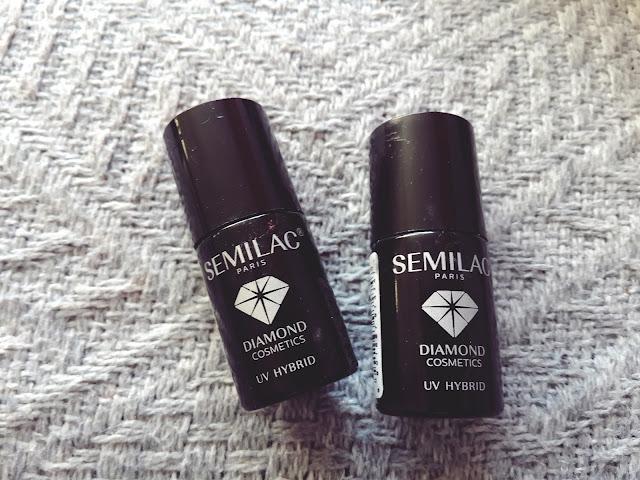 Nowosci od Semilac + manicure