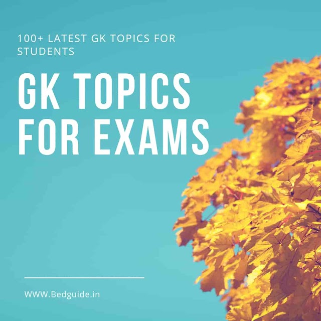 General Knowledge Topics For Students