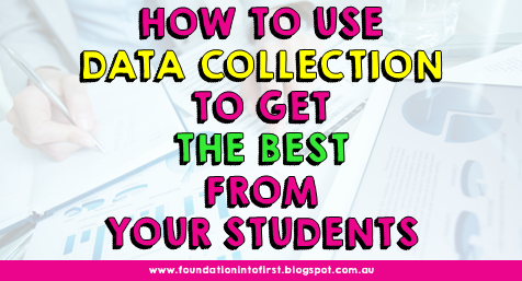 How to use data collection to get the best from your students. Testing to the test using data analysis to inform your teaching practice. #primary #teacher #school #data #hattie