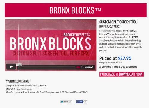 Bronx Blocks™ for Final Cut Pro X™ from Brooklyn Effects