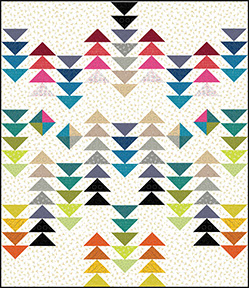 Quilt Inspiration: Free Pattern Day! Flying Geese Quilts : migrating geese quilt pattern - Adamdwight.com