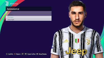 PES 2021 Faces Gianluca Frabotta by Rachmad ABs