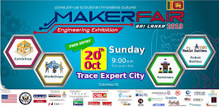 Exhibition Makerfair Colombo Sri Lanka